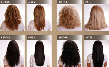 brazilian blowout results. Brazilian Blowout vs Brazilian